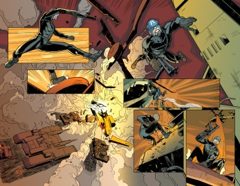 Daken: Dark Wolverine, pages 4 and 5