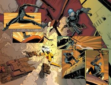 Daken: Dark Wolverine, pages 4 and 5
