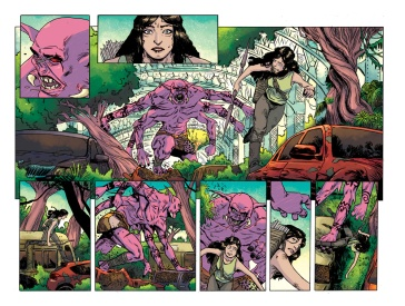 Hinterkind #2, pages 2 and 3