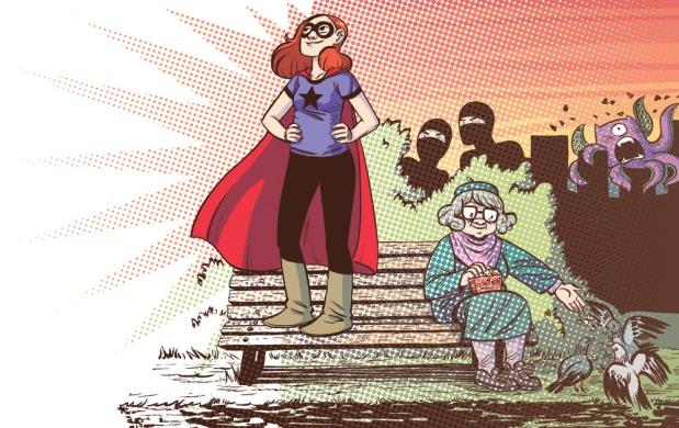 Adventure of Superhero Girl