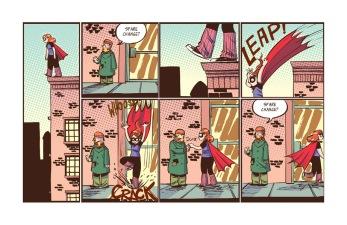 Adventure of Superhero Girl #1, page 01