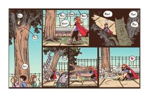 Adventure of Superhero Girl #1, page 02