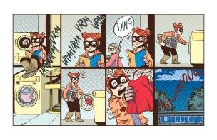 Adventure of Superhero Girl #1, page 03