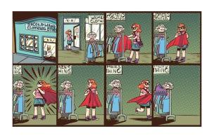 Adventure of Superhero Girl #1, page 04