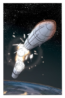 Fantastic Four #605, page 01