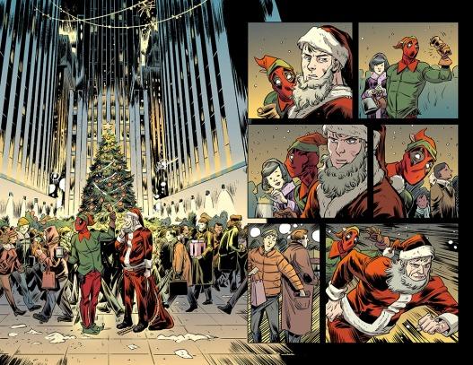 Hawkeye vs. Deadpool vs The Holidays #1 page 01