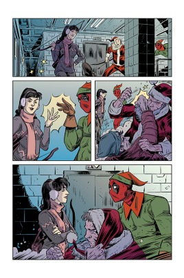 Hawkeye vs. Deadpool vs The Holidays #1, page 05