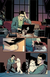 Hawkeye vs. Deadpool vs Crime #1, page 01